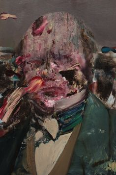'Charles Darwin as a young man' (2014) by Adrian Ghenie