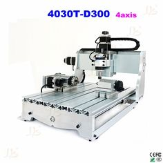 745.00$  Buy now - http://alia24.worldwells.pw/go.php?t=32604685111 - CNC 3040T-D300 4axis cnc Router mini cnc Milling Machine within 300W cnc spindle