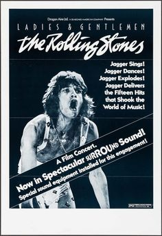 """Movie Posters:Rock and Roll, Ladies and Gentlemen: The Rolling Stones (Dragon Aire, 1973). OneSheet (27"""" X 41""""). Surround Sound Style. Rock and Roll.. ..."""