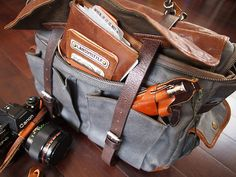 Scription: Wotancraft's Traveler's Notebook and City Explorer Camera Bag Review - Part 2