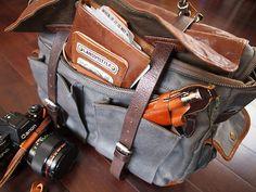 Scription: Wotancraft's Traveler's Notebook and City Explorer Camera Bag Review - Part 2