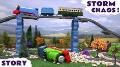 Thomas - Percy gets in trouble - Paw Patrol saves the day