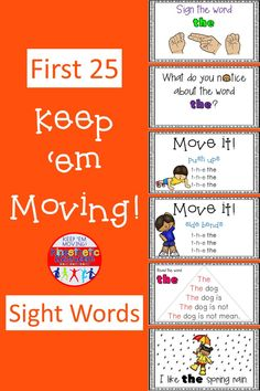 A fun and engaging bundle of PowerPoint and emergent reader sets for Fry's first 25 sight words. This interactive resource will keep your kids moving and learning!  In this resource you will find an interactive PowerPoint presentation for each of the 25 sight words, and a black and white version of each emergent reader for independent practice.