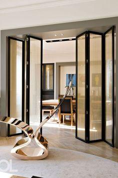 神圣的装修硬件 - 双折门#Designer #Internal #Bifold #Doors