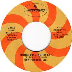 Mercury Records, late 1960s.