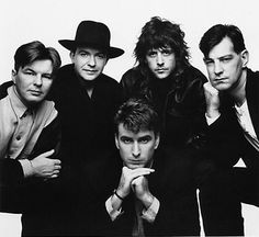 The Fixx, second act during the Police tour. 10-29-83, orange bowl.