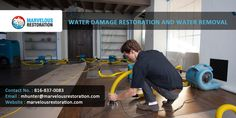 We provide service water damage restoration and water removal at kansas city.