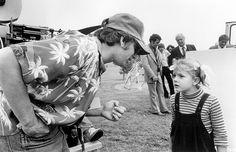 Steven Spielberg & Drew Barrymore Behind the Scenes in E.T. (1982) - 1280 by Museum of Cinema, via Flickr