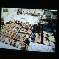 The medina in Fez, Morocco