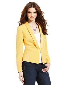 Tahari by ASL Jacket, Shawl-Collar Blazer - Womens Suits & Suit Separates - Macy's