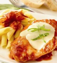 Recipe: Chicken Margherita Summary: We love margherita pizza, so we decided to try the same idea in a chicken dish![...]