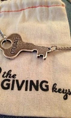Love this necklace that tells a story, supports a great cause and is super cute to wear!