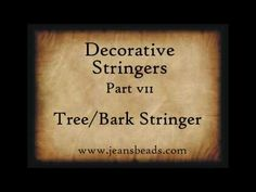 Decorative Stringers Part 4 by Jeannie Cox Lampwork Glass Making Glass, Glass Artwork, Fire Glass, Leaf Pendant, Beading Tutorials, Bead Crafts, Lampwork Beads, How To Make Beads, Lampworking