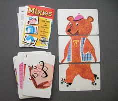 Dug out this Vintage Card Game we used to play as kids! (Ed-U-Card)