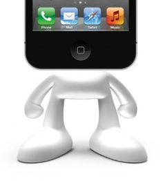 Pinhead is a dock for your iPhone or iPod, and he may just be the coolest dock ever.    Pinhead. A stand-up guy.