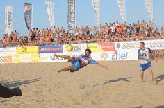 #BeachSoccer: Numeri da acrobata per il #brasiliano #Fred (Catania)