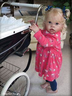 Tippi Toddler by Linda Murray - Online Store - City of Reborn Angels Supplier of Reborn Doll Kits and Supplies