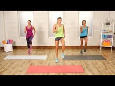 20 minute no-runnning cardio workout