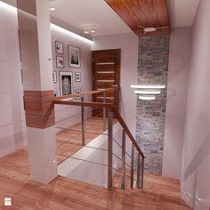 Dom Warszawa klatka schodowa i hol - Średnie schody, styl klasyczny - zdjęcie od All Design Agnieszka Lorenc