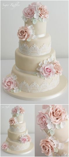 Wedding Cakes » 20+ Wedding Cake Ideas from Sugar Ruffles »   ❤️ See more:  http://www.weddinginclude.com/2017/03/wedding-cake-ideas-from-sugar-ruffles/