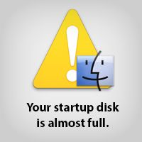 "How to clean up your mac when you get the dreaded ""Your startup disk is almost full"" notification. Works like a charm!"