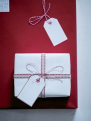 Red wrapping paper - Cox & Cox