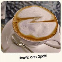 ¡Un café con #Opel!