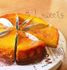 I want to keep it secret ✧ Sweet Potato & Pumpkin Tart ✧ Making Sweets, Easy Sweets, Homemade Sweets, Sweets Recipes, Cooking Recipes, Cake Recipes, Pumpkin Tarts, Delicious Desserts, Yummy Food
