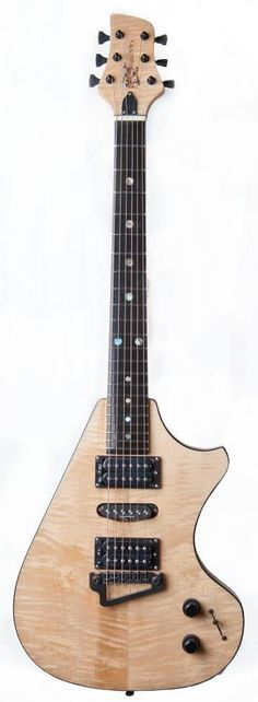 Supernatural III guitar hand made from scratch by Neil Smith NO CNC
