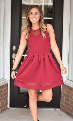 Such a cute dress! The length is perfect, and I love the simplicity. I'd love to have it for a holiday party!
