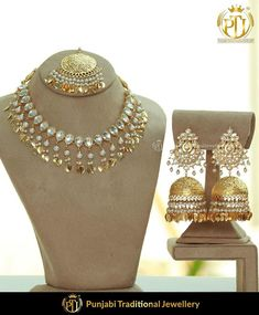 featured:- Pippal Patti Kundan Necklace Set Shop our latest collection at our store or visit our website today to buy.. You may also DM us OR contact us at 91 9914721111 to buy. Image copyright 2k18 Punjabi Traditional Jewellery WORLDWIDE SHIPPING AVAILABLE Free Shipping in India Cash on delivery available for India All kinds of Debit/Credit Cards or other payment methods are accepted #punjabi #traditional #Wedding #churra #WeddingChurra #punjabichura #bridal #bridalstudio #indianweddi Indian Necklace, Indian Earrings, Indian Jewelry, Punjabi Traditional Jewellery, Bridal Chura, Old World Charm, Jewelry Branding, Necklace Set, Bridal Jewelry
