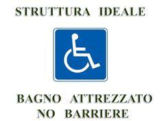 NO  BARRIERE  ARCHITETTONICHE  -  Bed and Breakfast  L'Antica Rosa di Anna  -  Via Lorenzo Bonincontri, 21  -  Tel.  3895325869  -  Idoneo per disabili - Non esistono barriere architettoniche