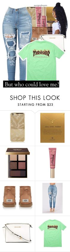 """11-22-2016."" by theimanimo ❤ liked on Polyvore featuring Dogeared, Bobbi Brown Cosmetics, Too Faced Cosmetics and MICHAEL Michael Kors"
