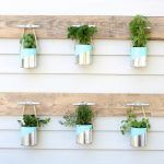 DIY Paint Can Herb Garden - Beautiful Upcycled Tin Can Crafts