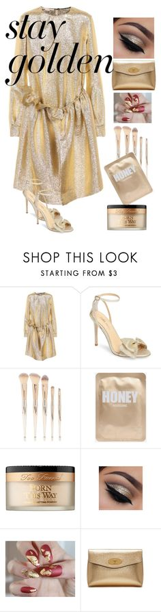 """239"" by mrs-h-7 ❤ liked on Polyvore featuring beauty, STELLA McCARTNEY, Bella Belle, Forever 21, Too Faced Cosmetics, Mulberry and GoldBeauty"
