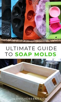 Handmade Soap 666743919813187442 - Guide to Soap Molds including materials you should avoid and ideas for wooden, silicone, recycled, and custom soap molds Source by rockinwhomestead Soap Making Recipes, Homemade Soap Recipes, Diy Savon, Soap Making Supplies, Diy Molding, Cold Process Soap, Home Made Soap, Handmade Soaps, Diy Soaps