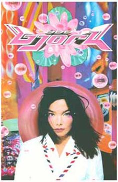 A great poster of the album cover artwork for Bjork's 1995 sophomore LP Post! Need Poster Mounts. Cool Album Covers, Music Album Covers, Music Albums, Kirara, Flyer, Led Zeppelin, Poses, Art Inspo, Poster Prints