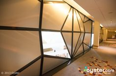#faceted hallways at the clarion #hotel & congress, trondheim #wall
