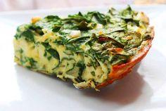 PALEO VEGGIE FRITTATA. Wanna give this recipe a shot? - http://www.paleoaholic.com/paleo/paleo-veggie-frittata/