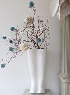 Se l'inverno è un pò troppo grigio per i vostri gusti, proviate a dare un tocco di colore alla vostra casa e ricreare in un attimo un'allegra atmosfera anc