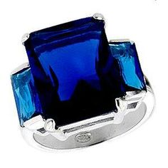 Ring. #ColorIntensity #CobaltBlue #TurnHeads