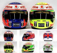 McLaren Helmets 2013