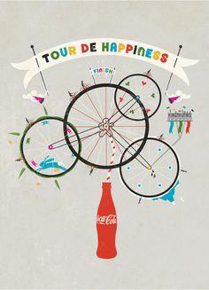 Coca Cola bikes