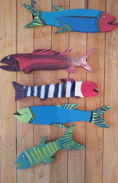 New folk art fish from Gulfcoast Folk on Etsy