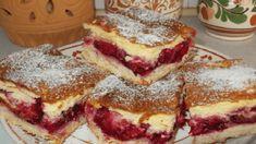 Výborný švestkový koláč s pudinkem a zakysanou smetanou! Baking Recipes, Cake Recipes, Dessert Recipes, Swiss Roll Cakes, Czech Recipes, Hungarian Recipes, Aesthetic Food, Food Cakes, Amazing Cakes