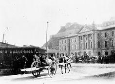 Halle du marché Champlain 1900.