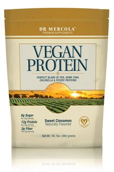 """The 'New' Plant Proteins: Has Their Time Arrived?""  Whether you're a dedicated bodybuilder or just want more high-quality protein, fiber, and omega-3s in your diet, this unique vegan protein blend opens up a world of possibilities ~ via http://proteinpowder.mercola.com/vegan-protein-powder.html"