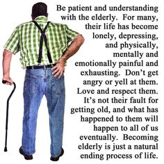 Jokes Pics, Jokes Quotes, True Quotes, Great Quotes, True Sayings, Old Age Quotes, Aging Quotes, Aging Parents, Love And Respect