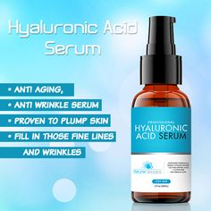 Hyaluronic Acid is one of the most powerful hydrating and moisturizing ingredients on the market today.  Proven anti-aging properties fill-in and diminish the look of fine lines and wrinkles. Get it now at http://www.petuniaskincare.com/ha #serum #skincare #haserum #hyaluronicacid #beauty #moisturizer