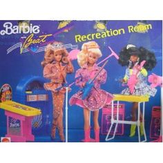 Barbie The beat recreation Room 1990